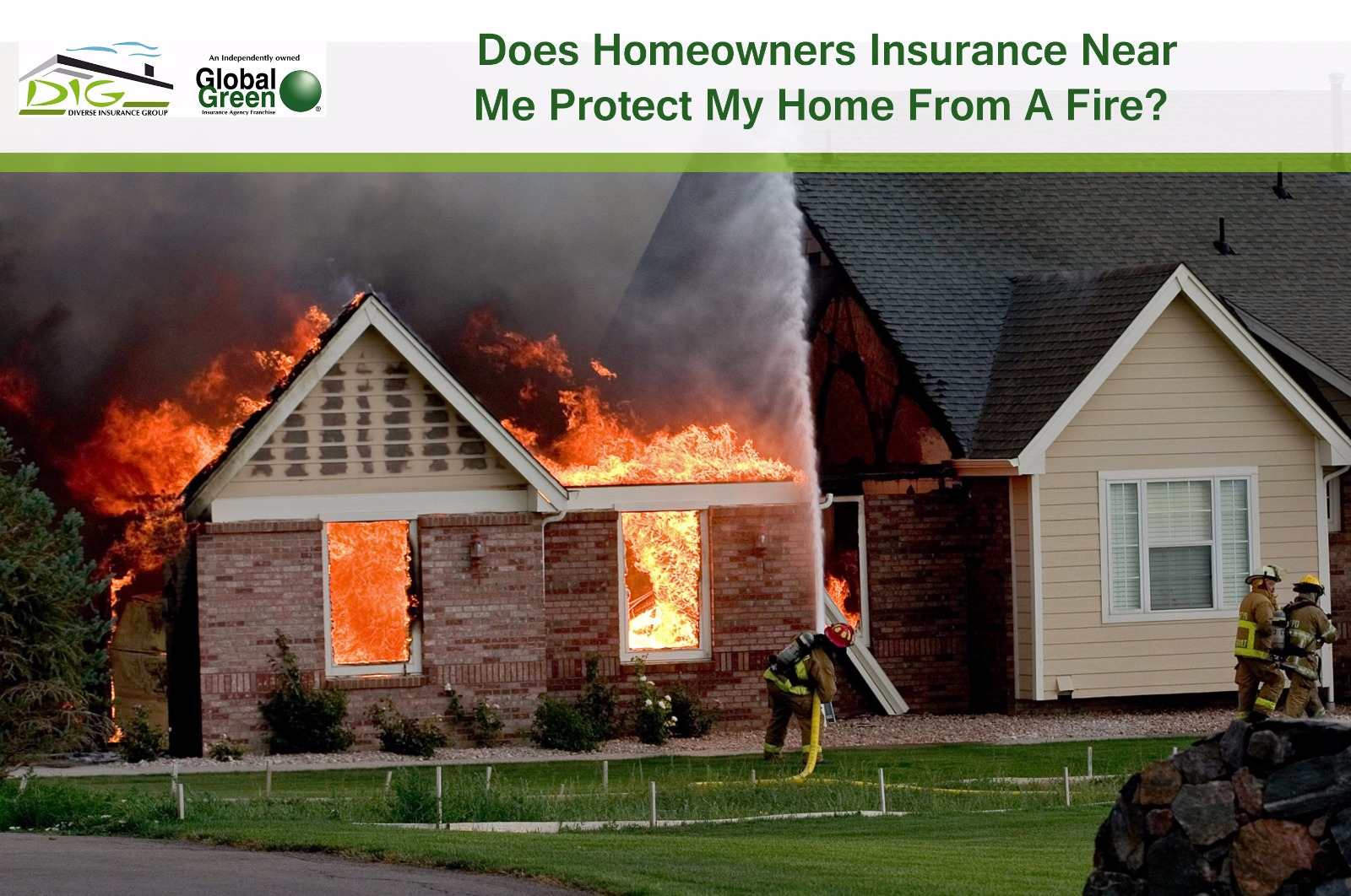 Does homeowners insurance near me protect my home from a fire for How to protect your house from fire