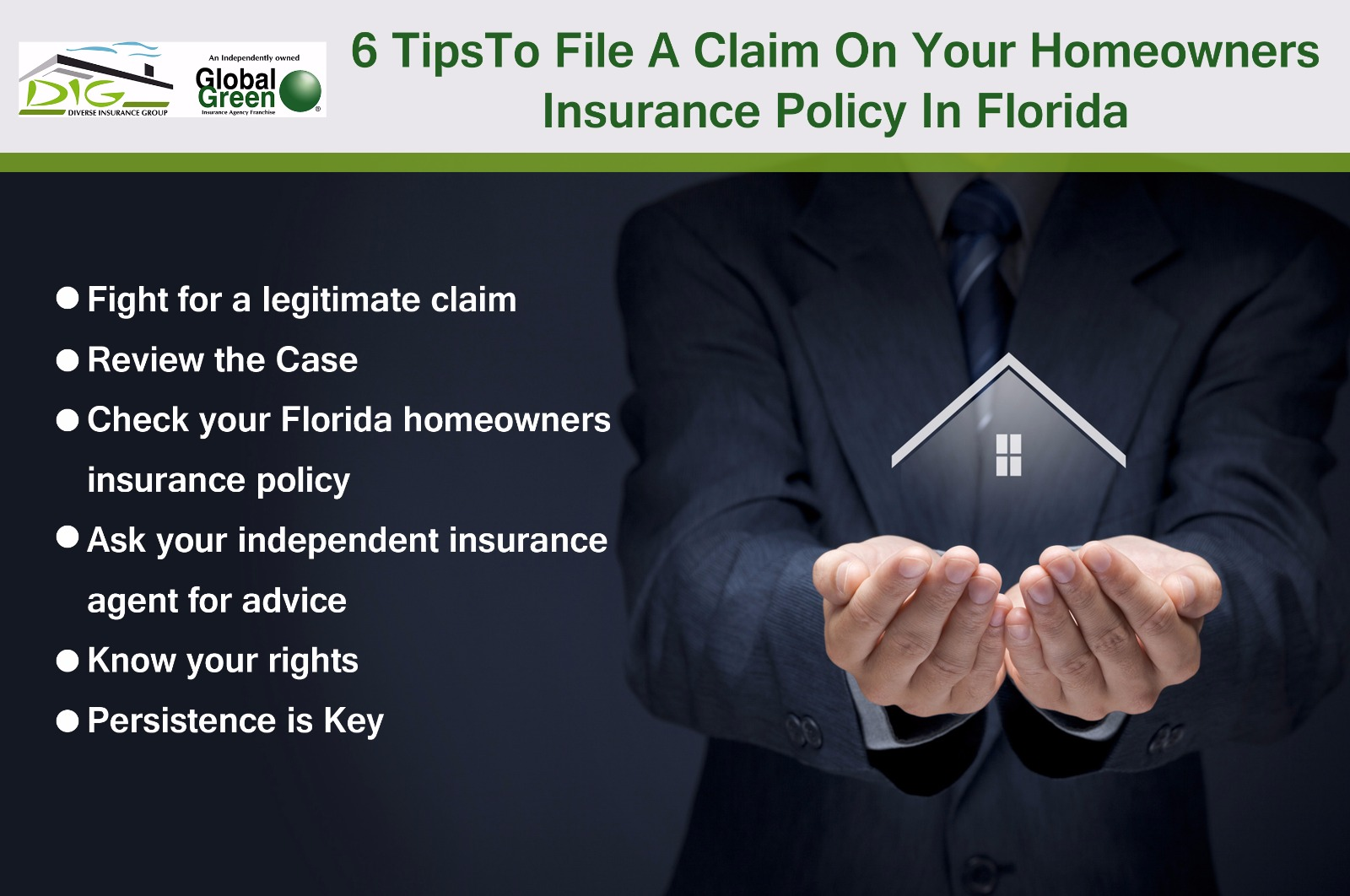 6 tips to file a claim on your homeowners insurance policy Homeowners insurance florida